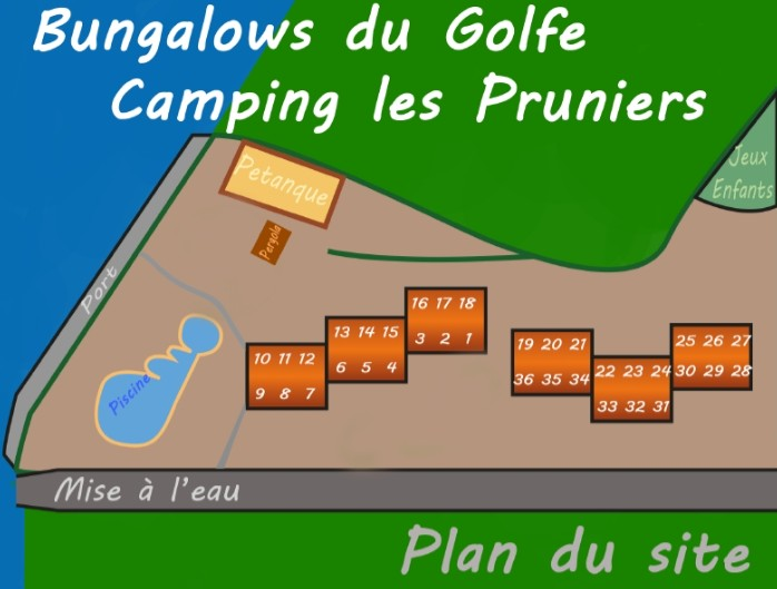 Plan Bungalows